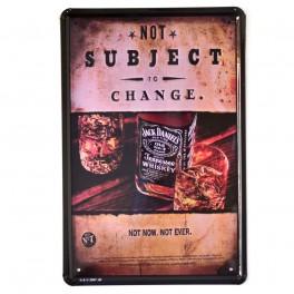 Chapa Metálica Jack Daniels