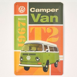 Chapa Metálica VW Camper Van