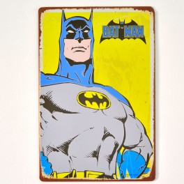 Chapa Metálica Batman