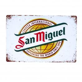 Cartel Metálico de San Miguel