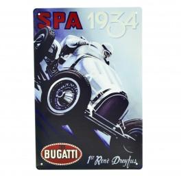 Cartel Metálico de SPA 1934