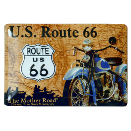 Cartel Publicitario Us Route 66