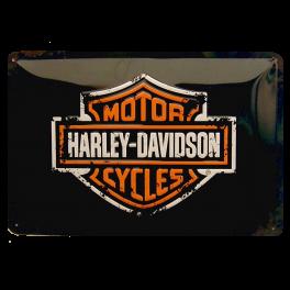 Cartel Publicitario Harley Logo