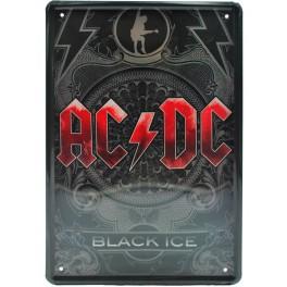 Cartel Metálico AC / DC
