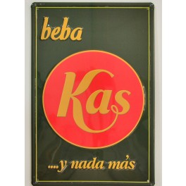Cartel Publicitario Kas
