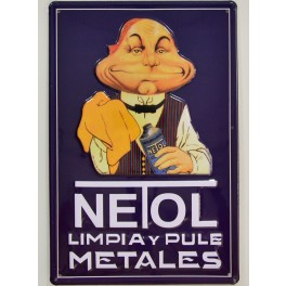 Cartel Publicitario Netol