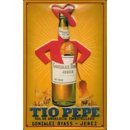 Cartel Publicitario Tio Pepe
