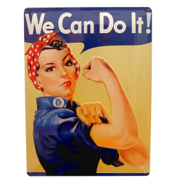 Cartel Publicitario We can do it