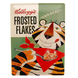 Cartel Publicitario Frosted Flakes