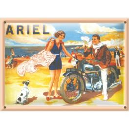 Postal Metálica Ariel