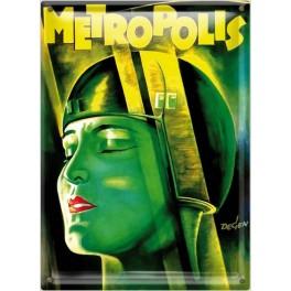Postal Metálica Metrópolis (cara=