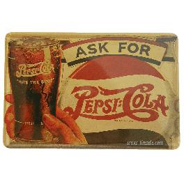 Cartel Publicitario Pepsi