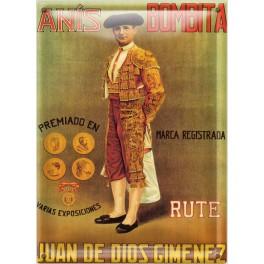 Cartel Publicitario Anis Bombita