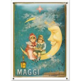 Postal Metálica Maggi Luna