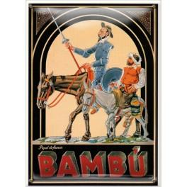 Postal Metálica Papel De Fumar Bambu