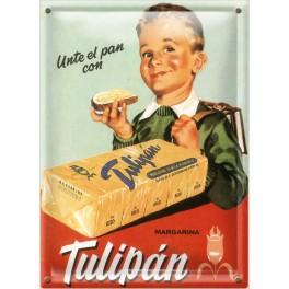 Postal Metálica Tulipan