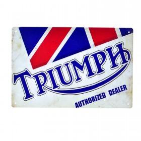Cartel Metálico de Triumph