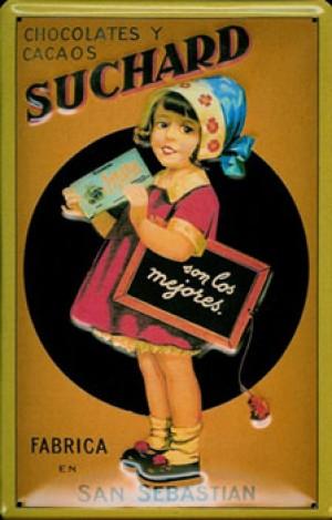 Cartel Publicitario Suchard