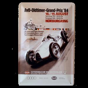 Cartel Publicitario Audi Grand Prix