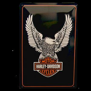 Cartel Publicitario Harley Aguila