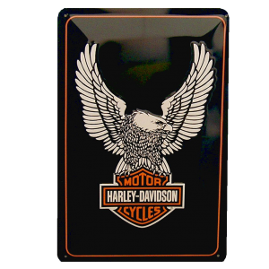 Cartel Publicitario Logo Harley