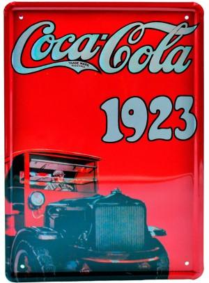 Cartel Publicitario Coca-Cola 1923