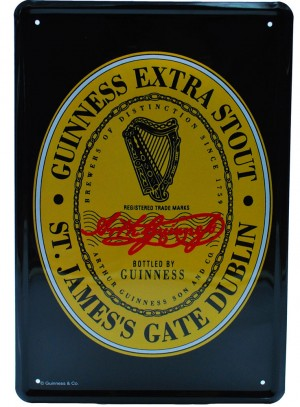 Cartel Publicitario  Guinness Logo