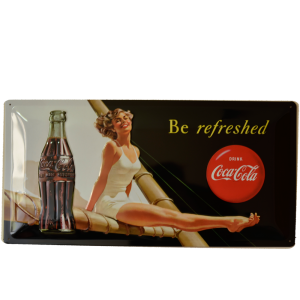 Cartel Publicitario Coca Cola Be Refreshed