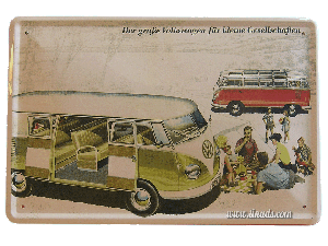 Cartel Publicitario Vw Bus