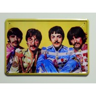 Cartel  Metálico The Beatles Sgt. Pepper