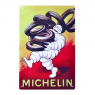 Cartel Metálico de Michelín neumáticos
