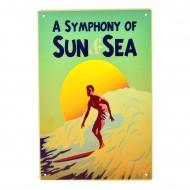Cartel Metálico de Sun & Sea