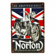 Cartel Metálico de Norton, the unapproachable