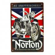Cartel Metálico de Norton, the unapproachable