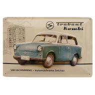 Cartel Publicitario Trabant Kombi