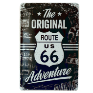 Cartel Publicitario Route 66 The Original