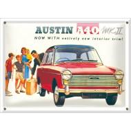 Postal Metálica Austin A40