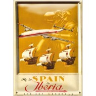 Postal Metálica Iberia