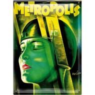 Postal Metálica Metrópolis (cara)