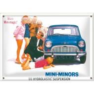 Postal Metálica Mini Minors2