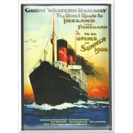 Postal Metálica Great Western Railway