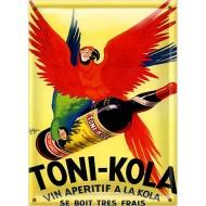 Postal Metálica Toni Kola