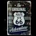 Cartel Publicitario Route 66 The Original