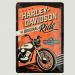 Cartel Metálico de Harley Davidson, the Original Ride