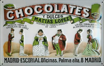 Matias López, Chocolates y Dulces