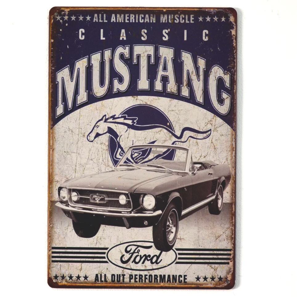 Chapa Metálica Ford mustang