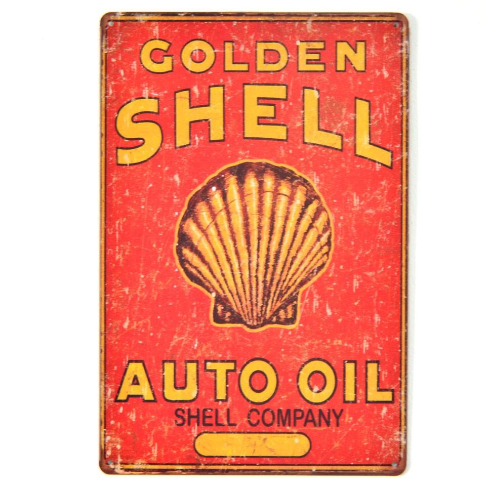 Chapa Metálica Shell