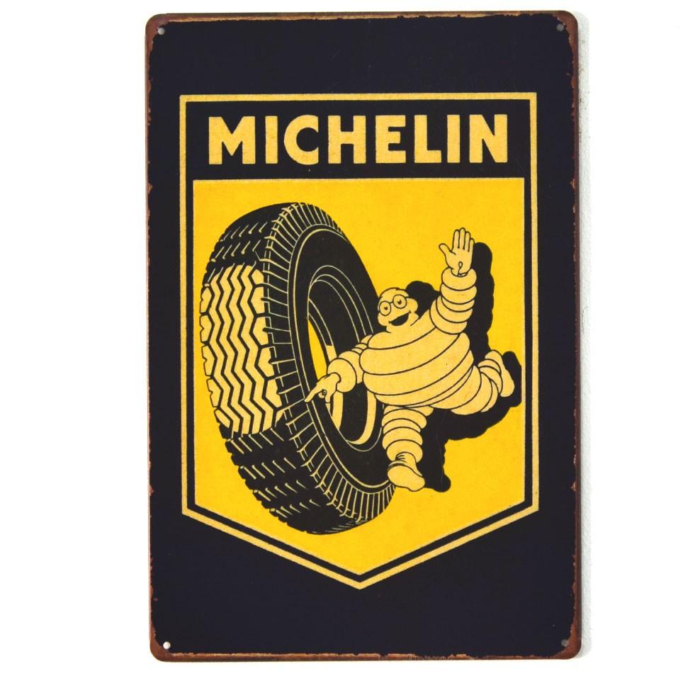 Chapa Metálica Michelin