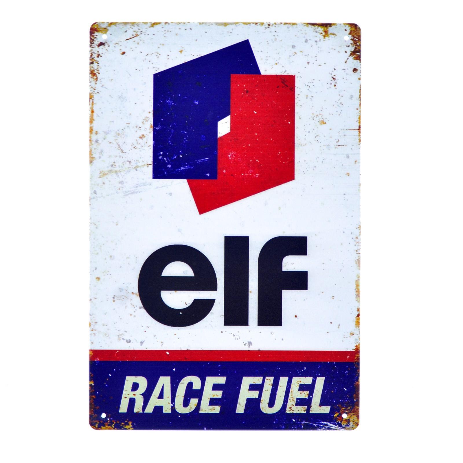 Cartel Metálico de ELF