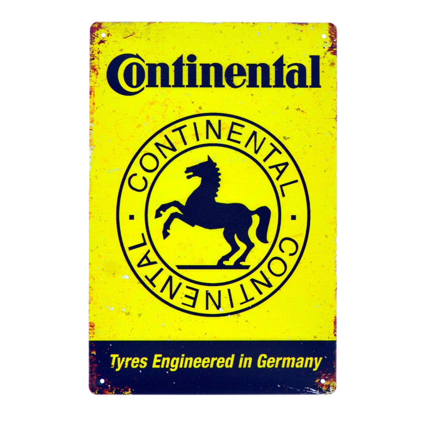 Cartel Metálico de Continental
